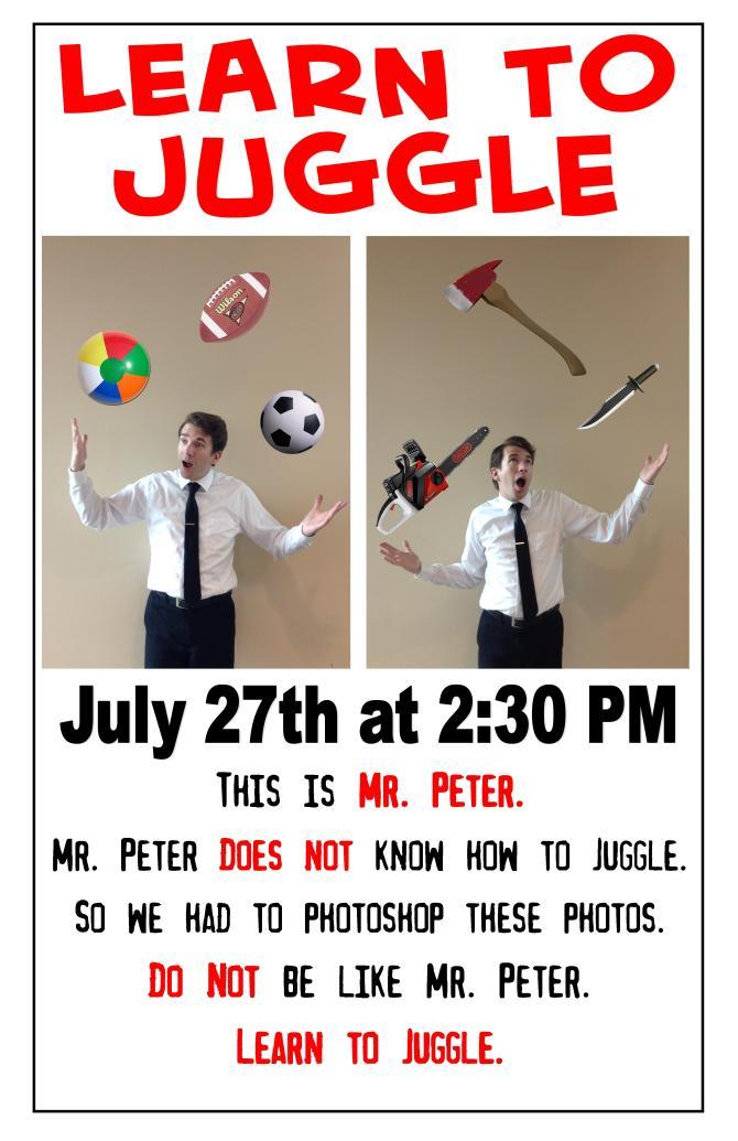 Poster--Juggle
