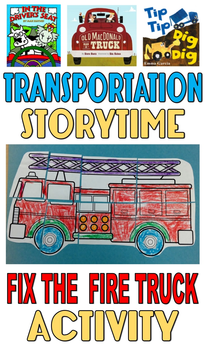 Storytime–Transportation Stories – The Lego Librarian