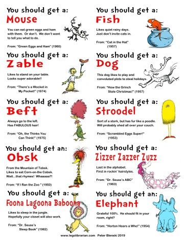 Seuss--Pet Sheet 2