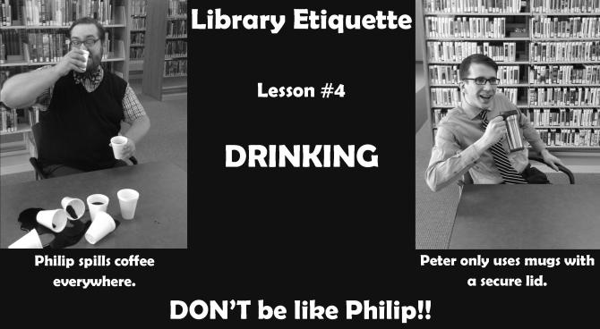 Library Etiquette 4