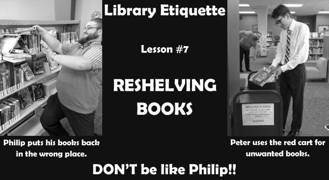 Library Etiquette 7