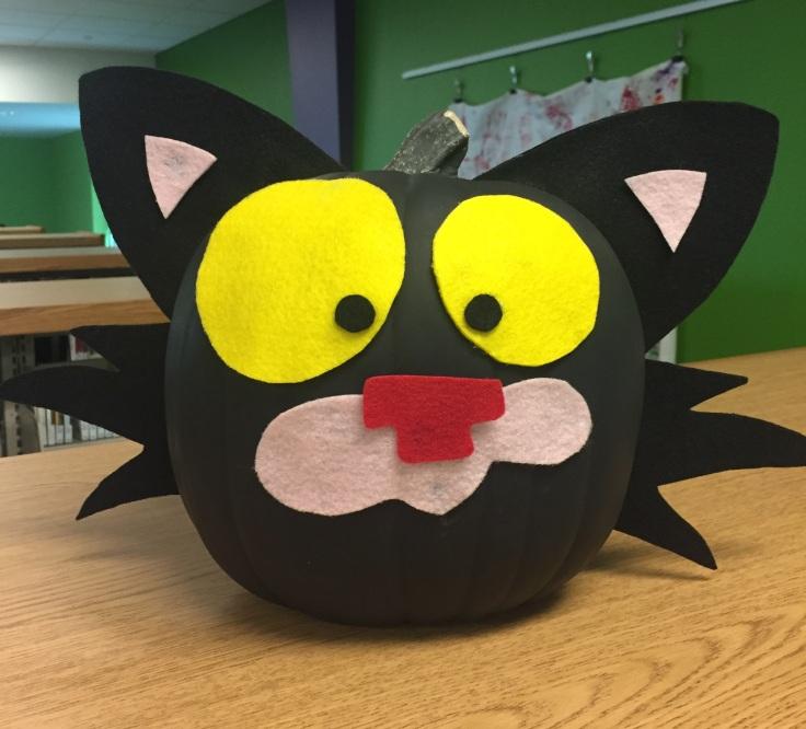 Bad Kitty Pumpkin.JPG