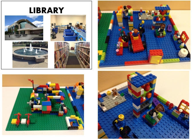 Lego City--Library
