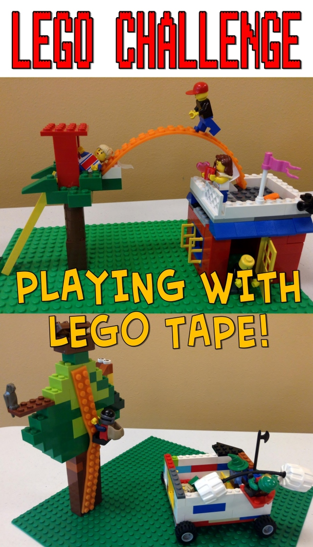 Lego Club Challenge–Lego Tape – The Lego Librarian