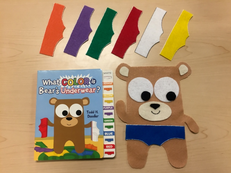 What Color is Bear's Underwear