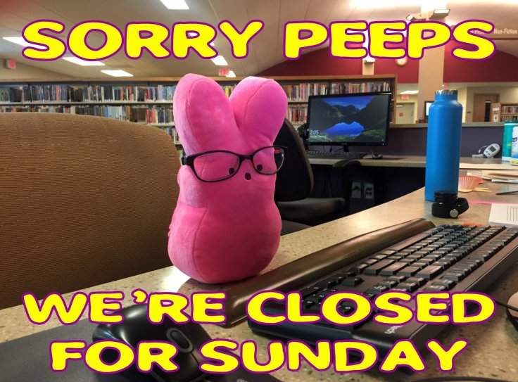 Library Closed-Easter