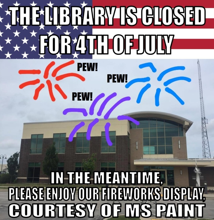 Library Meme--4th of July