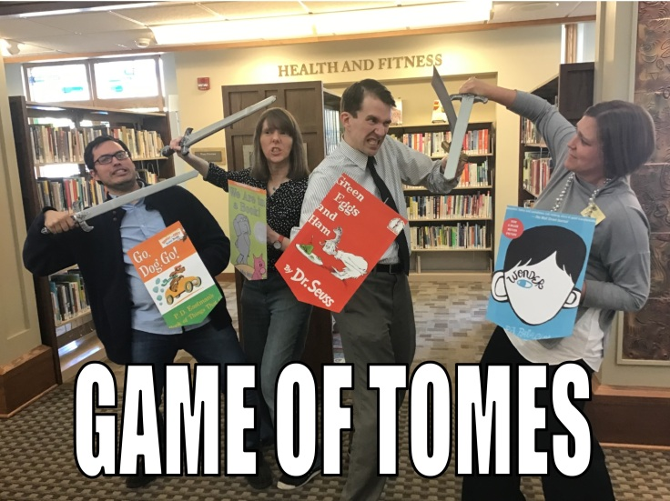 Library Meme--Game of Tomes