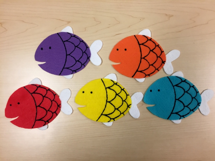 Five Little Fishie Flannel