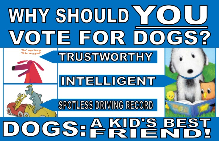 Vote for Dogs Poster