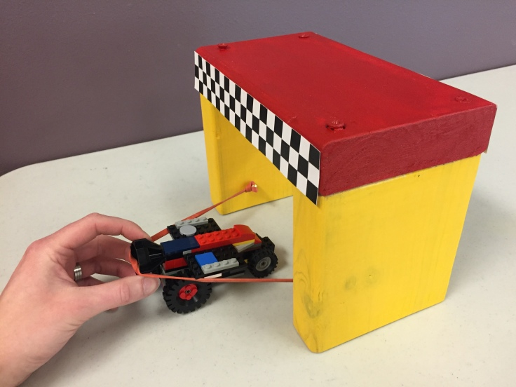 Lego Rocket Car 1