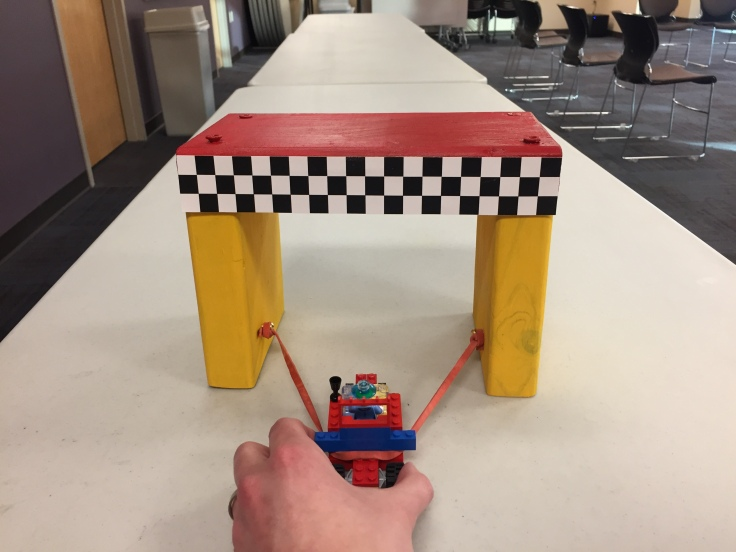 Lego Rocket Car 4