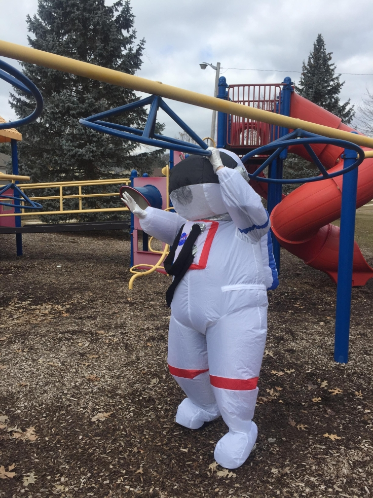 Library Astronaut