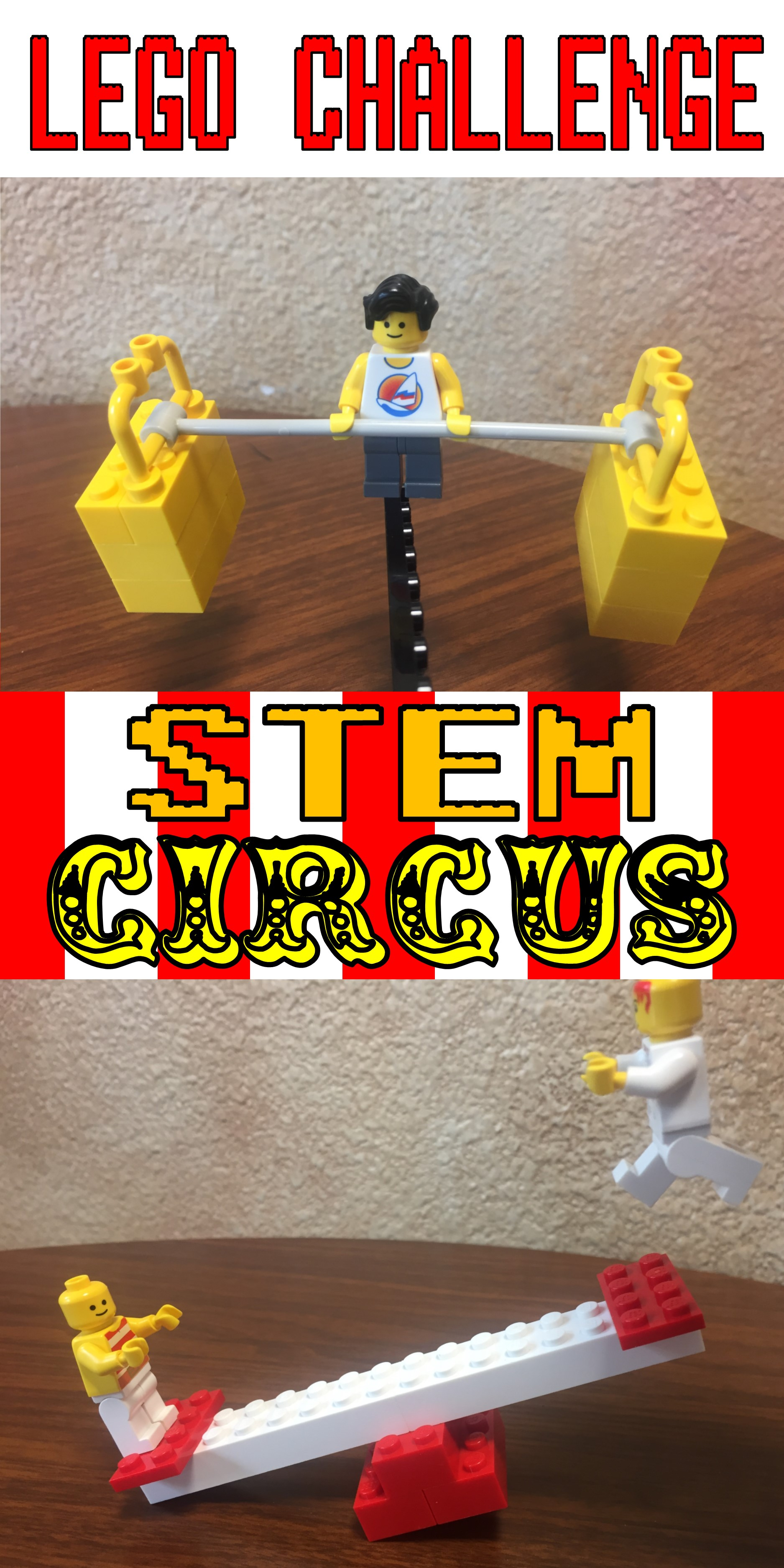 Lego Club Challenge Stem Circus The Lego Librarian