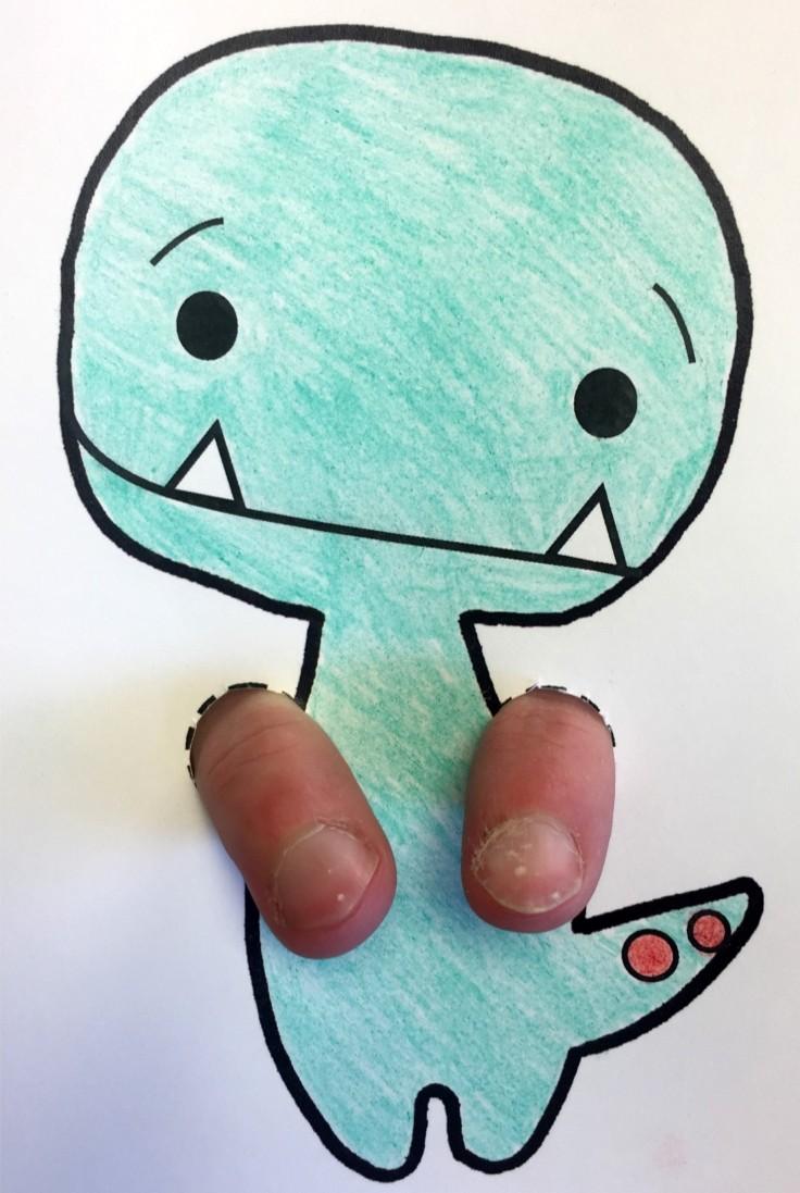 Tiny T-Rex Puppet 1