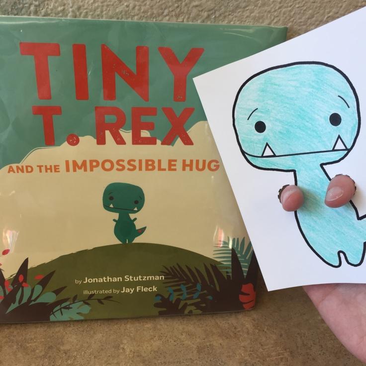 Tiny T-Rex Puppet 2